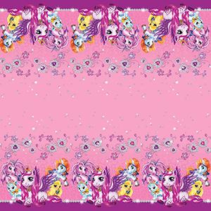 Скатерть полиэтиленовая Волшебные питомцы 140см X 180см