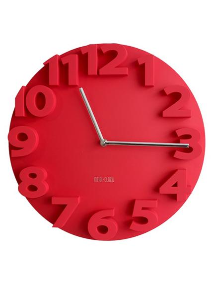 Часы настенные - объемные цифры