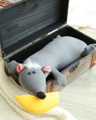 Подушка-игрушка антистресс «Крыса Анфиса» 6