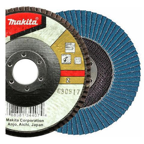 Лепестковый шлифовальный диск Makita Z60 180 мм