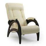 Кресло для отдыха Модель 41 экокожа с лозой