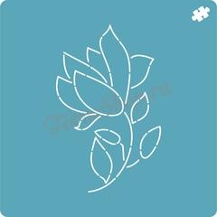 Набор форм + трафарет К 8 марта форма для пряника, мастики, печенья
