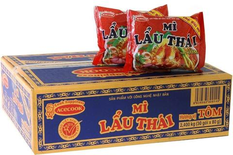 Сублимированная лапша MI LAU THAI со вкусом