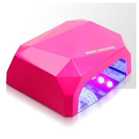 Лампа гибридная CCFL+Led 36 Вт розового цвета с магнитным дном