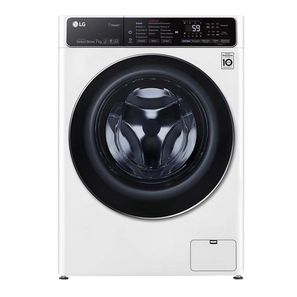 Узкая стиральная машина LG AI DD F2T9HS9W фото