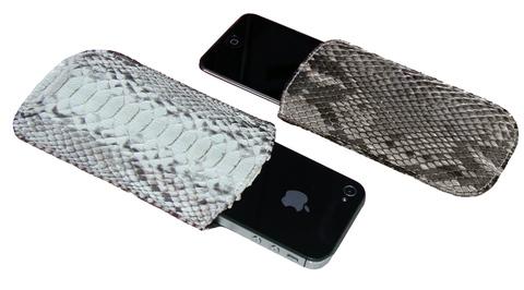 Чехол из кожи питона для iPhone CV-08