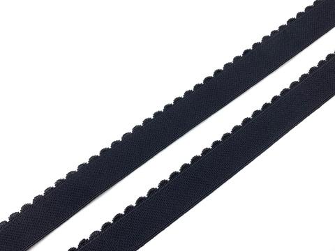 Резинка отделочная черная 20 мм Lauma