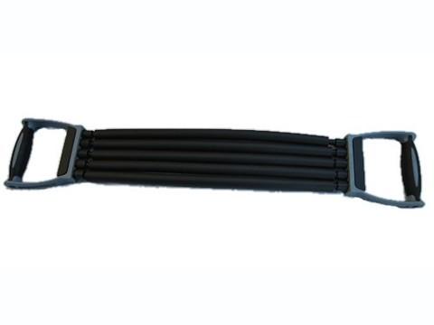 Эспандер плечевой 5 резинок, с трубкой SPRINTER. :(8307/8037):