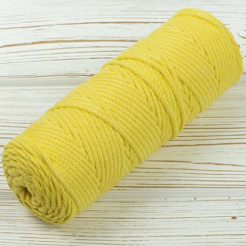 Шнур 4мм Желтый