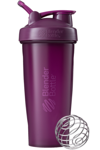 Шейкер спортивный, 828мл, BlenderBottle Classic с венчиком-пружинкой купить
