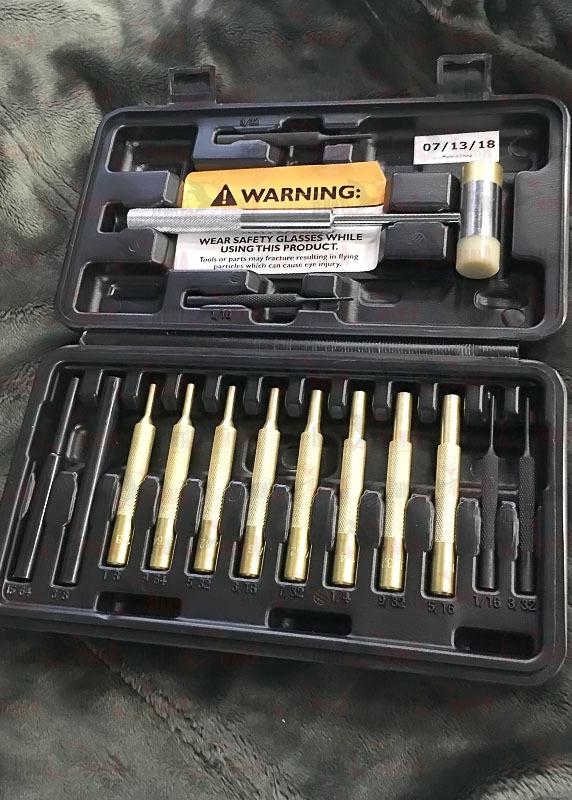Набор выколоток Wheeler Engineering Hammer