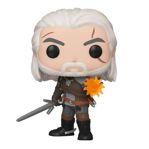 Фигурка Funko POP! Vinyl: Games: Witcher: Geralt (GW) (Exc) 45039