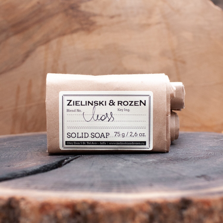Твёрдое мыло MOSS ZIELINSKI & ROZEN (75гр)