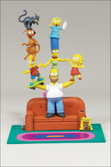 The Simpsons Boxed Set: Family Couch Gag
