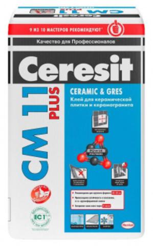 Плиточный клей Церезит СМ 11 Plus 25 кг