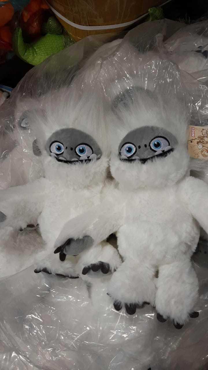 Мягкая игрушка Белый Йети (Эверест)
