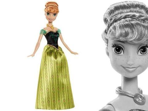 Кукла Анна Холодное Сердце, День коронации