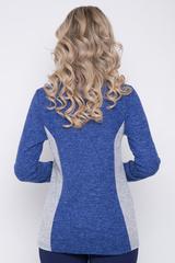 <p>Оригинальный блузон на каждый день. Длинный рукав, V-образный вырез горловины.&nbsp;Длины: 46-64см; 48-65см; 50-66см; 52-67см</p>