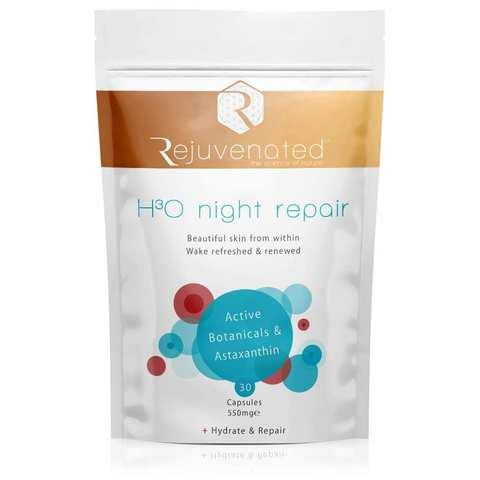 Rejuvenated Активные капсулы для ночного восстановления и увлажнения кожи H3O Night Repair
