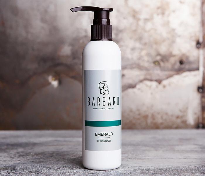 Barbaro, Гель для бритья EMERALD от Barbaro (200 мл) недорого
