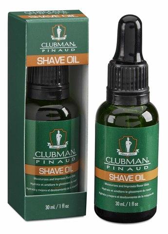 Натуральное масло для бритья Clubman