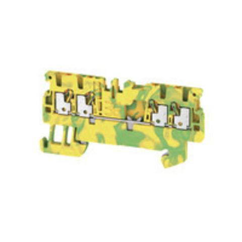 Модульные клеммы с заземлением A4C 1.5 PE
