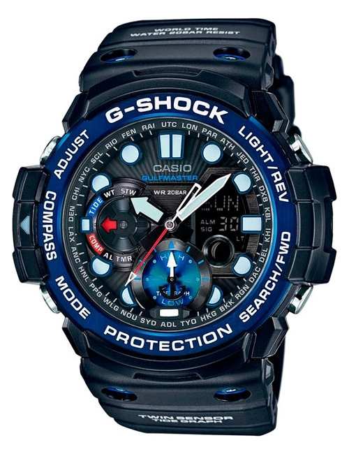 Часы мужские Casio GN-1000B-1AER G-Shock Premium