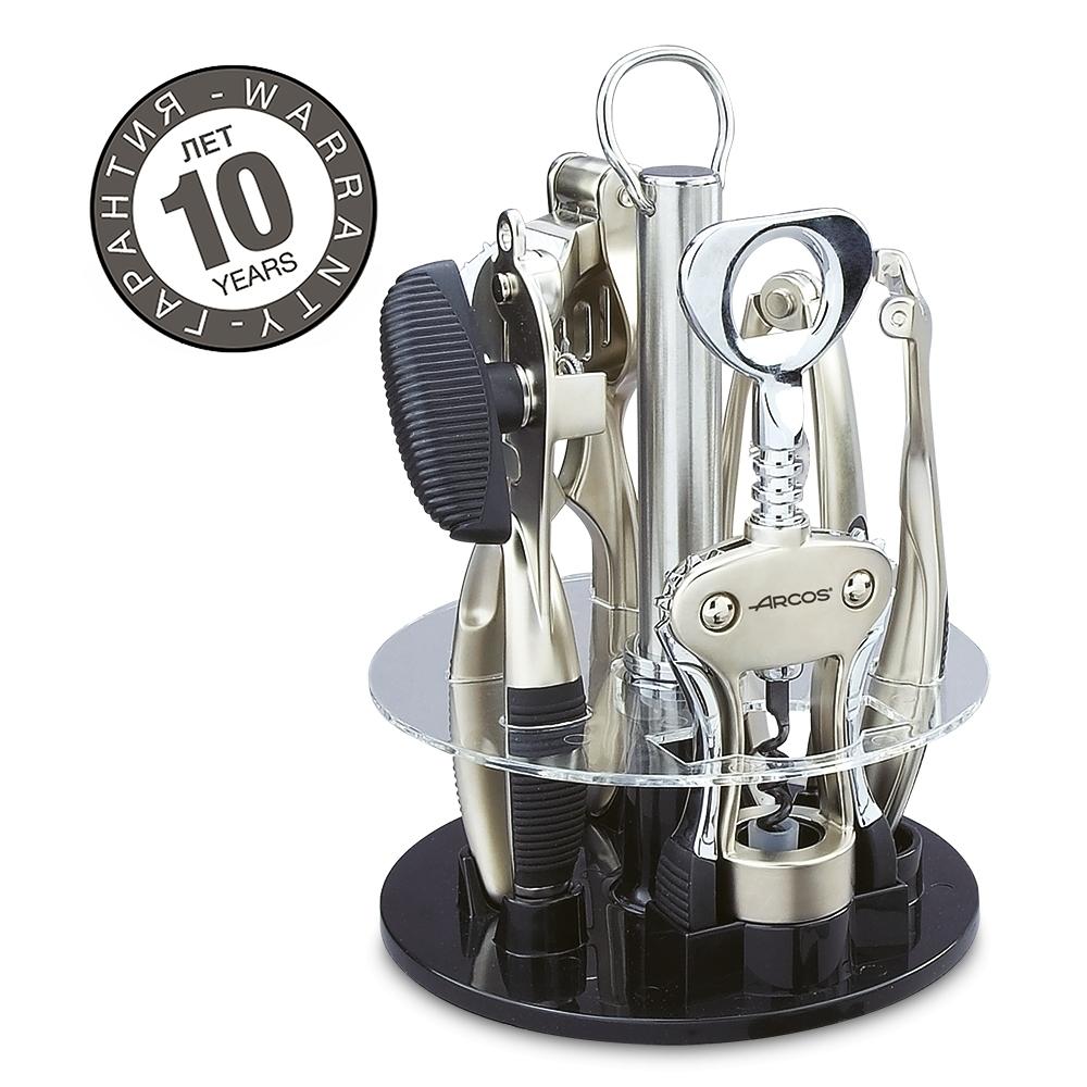 Набор из 5 предметов на подставке ARCOS Kitchen gadgets арт. 6045