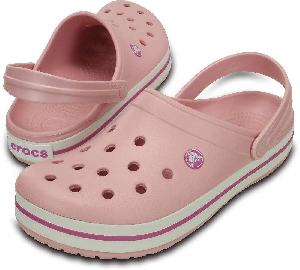 Купить кроксы сабо розового цвета