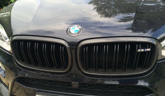 Карбоновые рамки решетки радиатора для BMW X6 F16