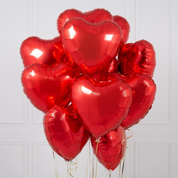 Композиции Букет женщине из красных фольгированных сердец web-res-star-and-heart-foil-bunches-3.jpg