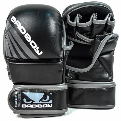 Перчатки для ММА Bad Boy Training Series Impact Safety Black/Grey