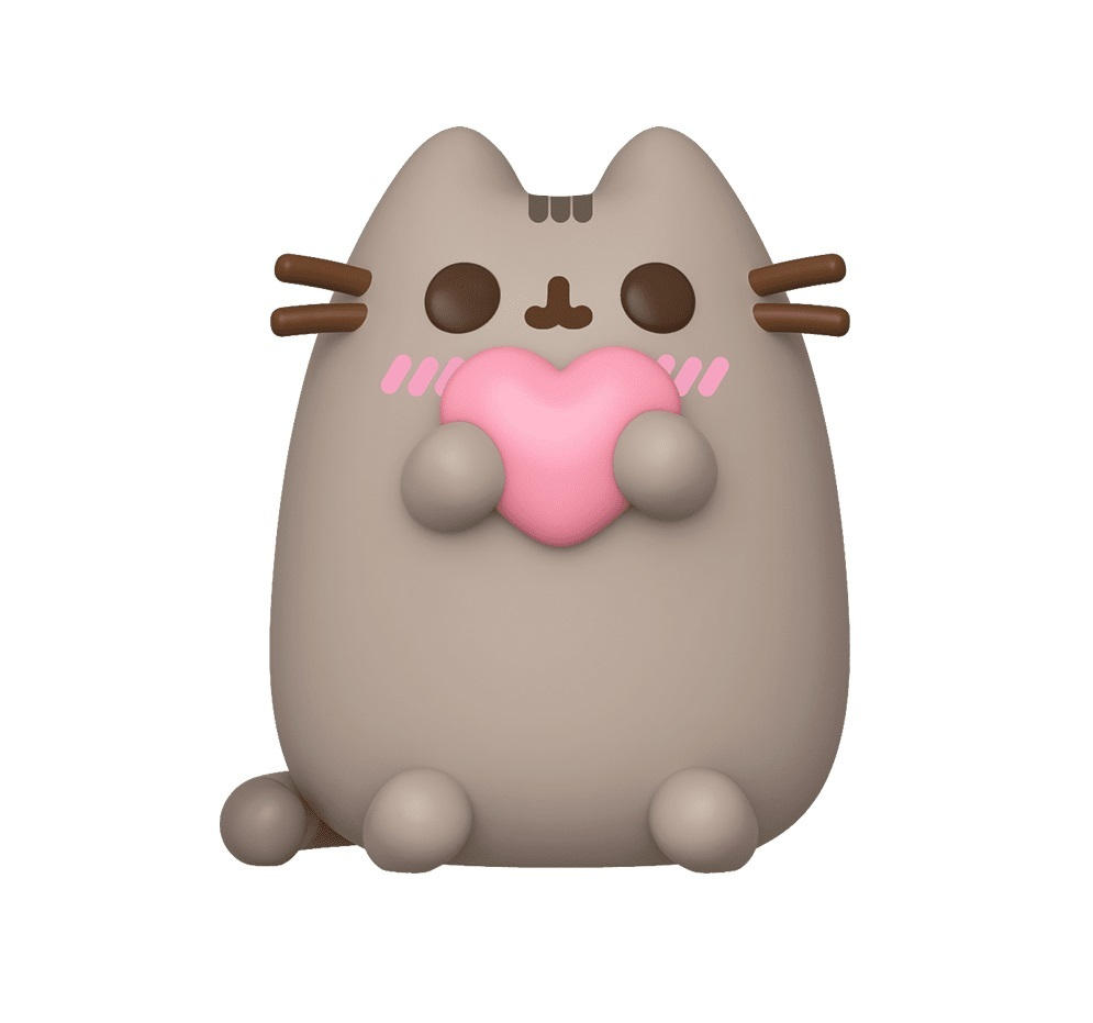Фигурка Funko POP! Vinyl: Pusheen: Pusheen w/Heart 44529