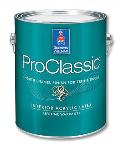ProClassic Waterborne Interior Acrylic Enamel