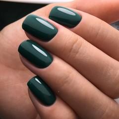 Bagheera Nails BN-13 благородный зелёный гель-лак 10 мл