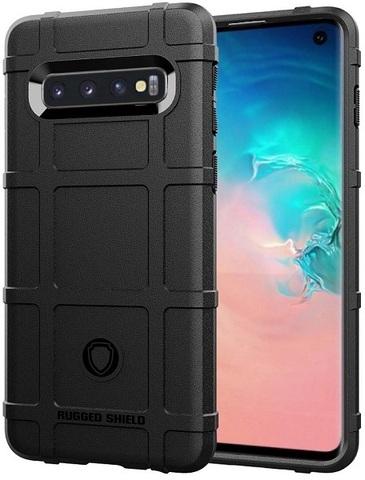 Чехол Samsung Galaxy S 10 цвет Black (черный), серия Armor, Caseport