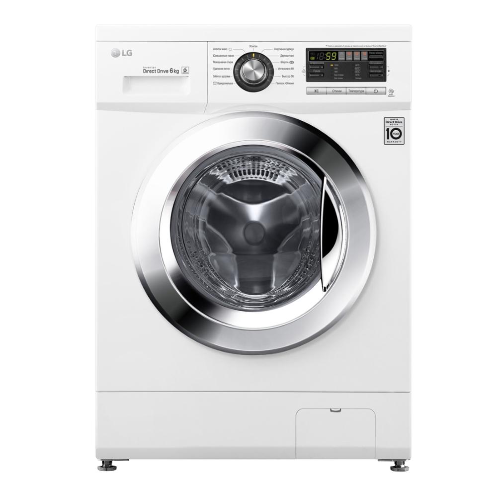 Узкая стиральная машина LG с системой прямого привода F1096ND3 фото