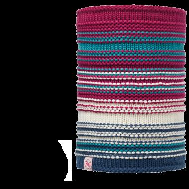 Детские шарфы Вязаный шарф-труба с флисовой подкладкой Buff Amity Pink Cerisse 113537.png