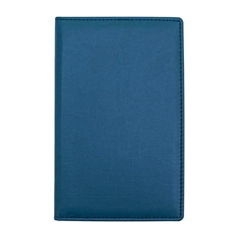 Визитница настольная Attache Вива искусственная кожа на 72 визитки синяя