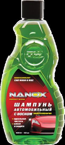 NX 8134 шампунь с воском   (450мл), нанотехнология, шт