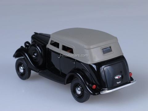 GAZ-61 Phaeton black 1:43 Nash Avtoprom
