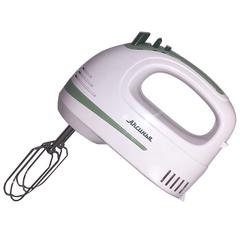 Миксер электрический 400 Вт АКСИНЬЯ КС-406 белый с зеленым