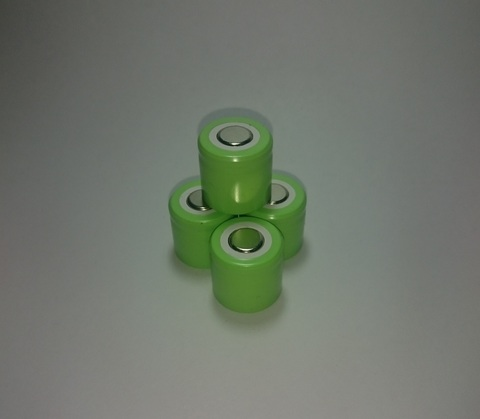 Аккумулятор 1/3А  Ni-Mh 500mAh 1,2V 0,6Wh