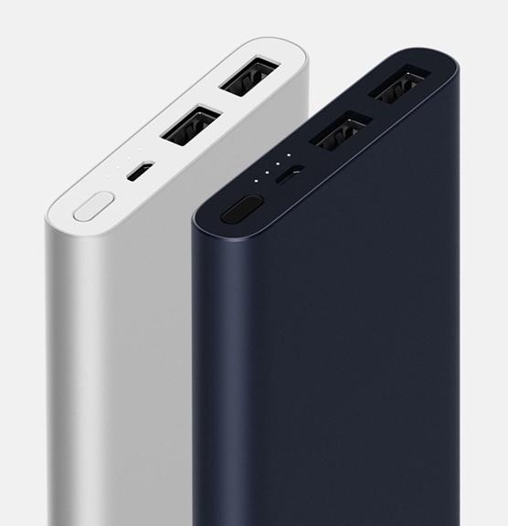 Xiaomi Mi Power Bank 2i 10000mAh Black 2 USB