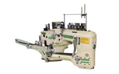 Фото: Плоскошовная шестиниточная швейная машина Ming Jang (Megasew) MJ62G(GD)-452(460)-01/SV/AT/AW