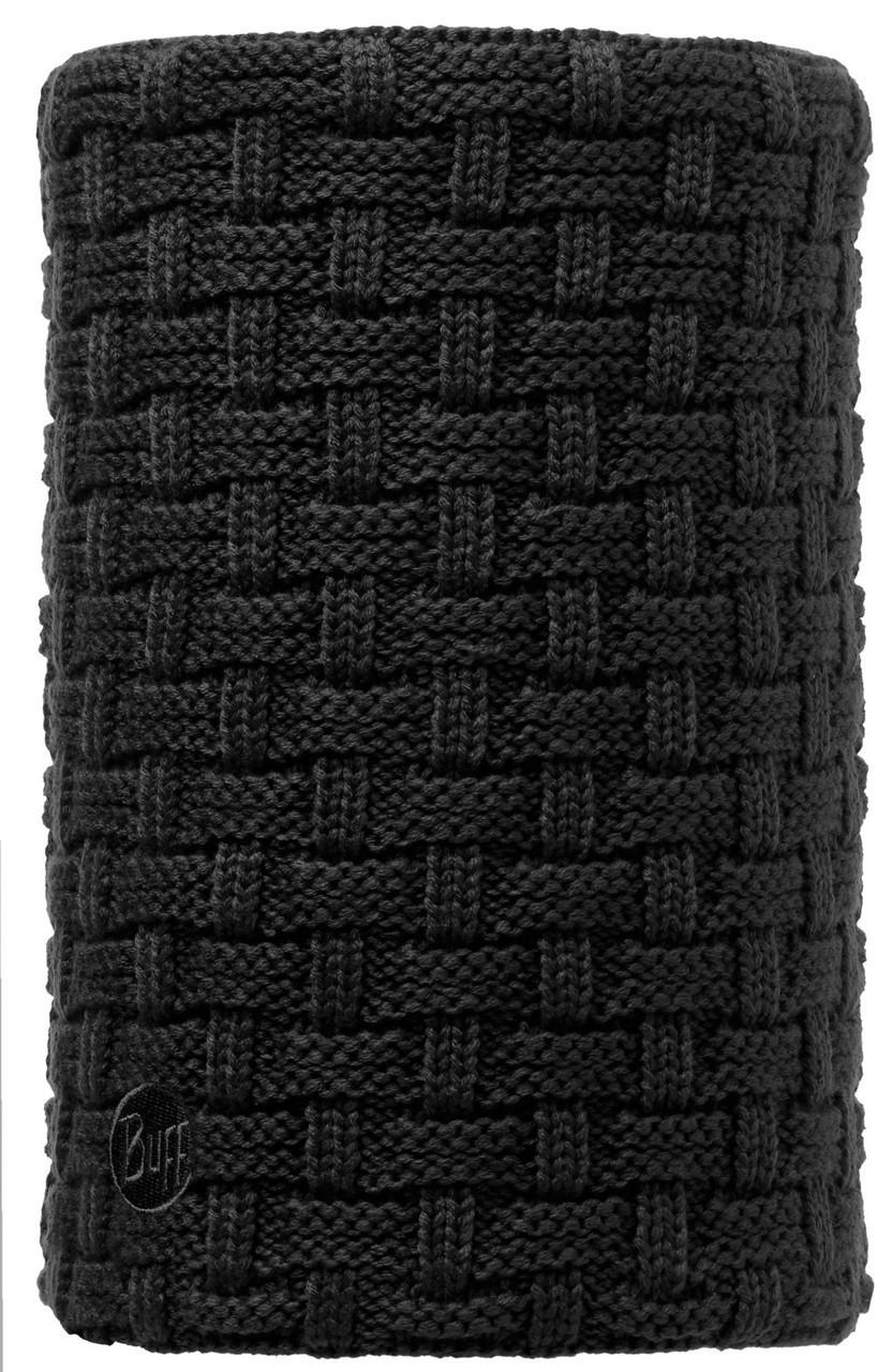 Вязаные шарфы Вязаный шарф-труба с флисовой подкладкой Buff Airon Black 113549.999.10.00.jpg