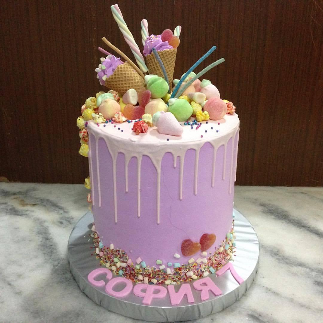 торт для девочки Алматы