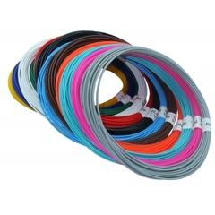 Набор пластика PLA для 3D ручек (12 цветов по 10 м)