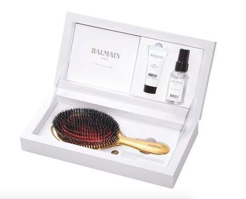 Balmain Hair Набор Золотая SPA-щетка, Дымка, Эликсир