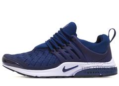 Кроссовки Мужские Nike Air Presto Woven Navy White